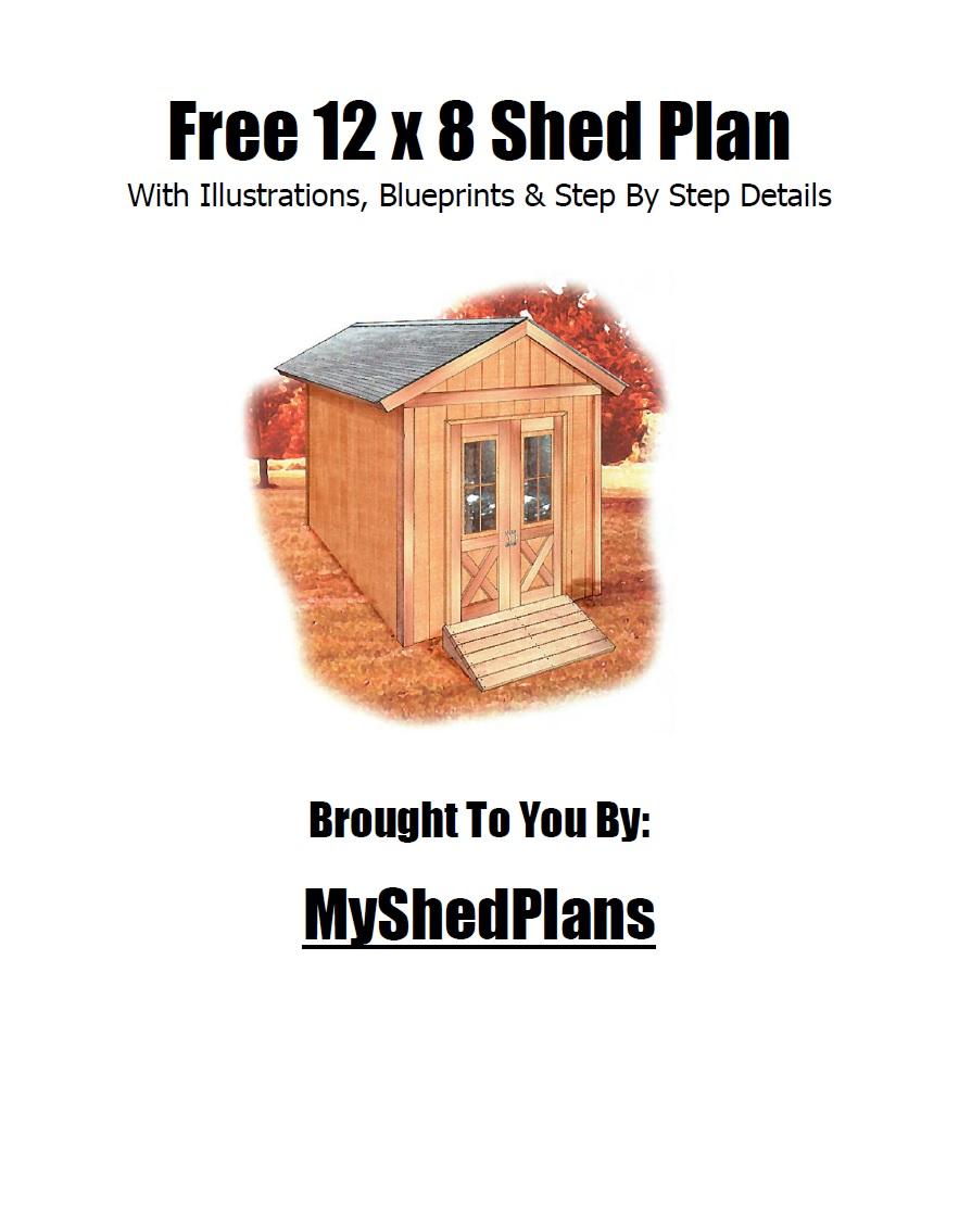 Free Shed Plan