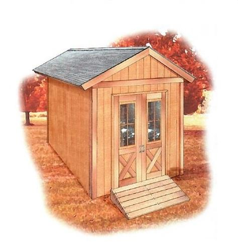 free shed plan, basic shed plan, printable shed plan, 12 x 8 shed plan, free shed plan, image of basic shed plan, customizable shed plan